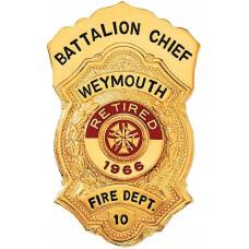 Blackinton Badge B593