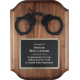 Police Handcuff Plaque
