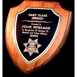 Police Shield Plaque