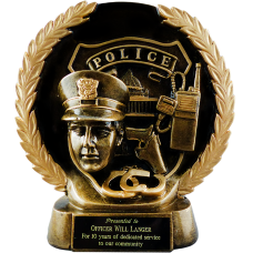 Gold Wreath Police Award