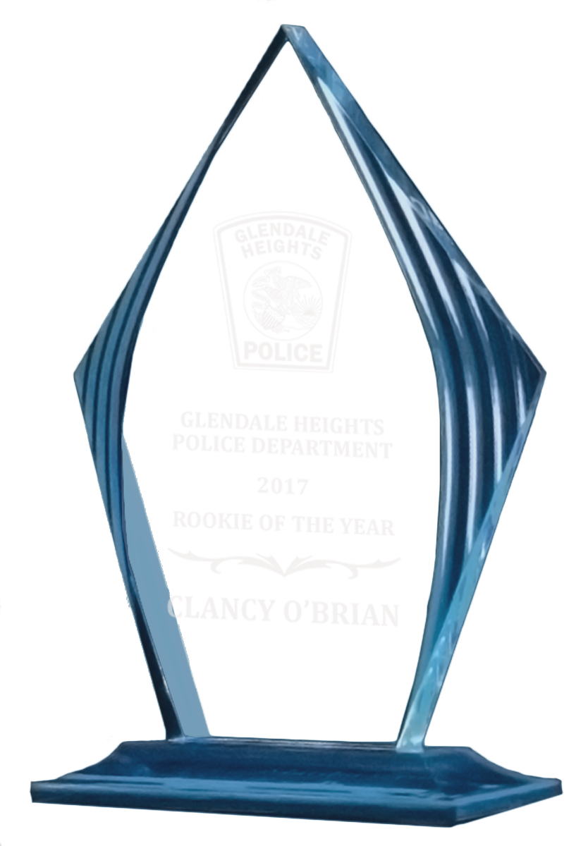 Accent Police Officer Award